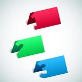 fondo de papel del progreso del vector 3D Imagenes de archivo