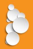 Fondo de papel del vector Foto de archivo libre de regalías