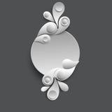 Fondo de papel del vector Imágenes de archivo libres de regalías