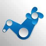 Fondo de papel del vector Imagenes de archivo