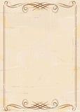 Fondo de papel envejecido vendimia Fotos de archivo libres de regalías