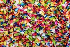Fondo de papel festivo colorido Imagen de archivo libre de regalías