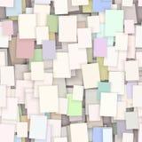Fondo de papel inconsútil de la nota, Foto de archivo libre de regalías