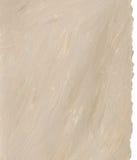 Fondo de papel marrón claro con los bordes rasgados Imagen de archivo