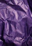 Fondo de papel púrpura con el modelo Fotos de archivo