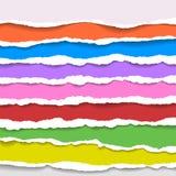 Fondo de papel rasgado con el espacio para el texto Diseñe el vector de la plantilla del ejemplo para la bandera de la página web Imagen de archivo
