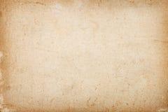 Fondo de papel rasgado marrón envejecido Imágenes de archivo libres de regalías