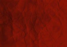 Fondo de papel rojo Imágenes de archivo libres de regalías
