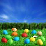 Fondo de Pascua imágenes de archivo libres de regalías