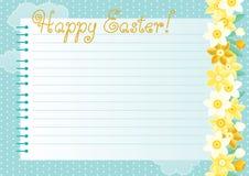 Fondo de Pascua Fotos de archivo