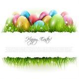 Fondo de Pascua con el copyspace Fotos de archivo