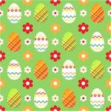 Fondo de Pascua. Inconsútil Foto de archivo libre de regalías