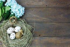 Fondo de Pascua Los huevos de Pascua felices dolieron también al rabino Foto de archivo