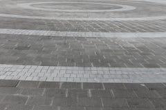 Fondo de pavimentación decorativo Foto de archivo libre de regalías