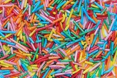 Fondo de pequeños elementos coloreados fotos de archivo