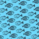 Fondo de pescados Imagen de archivo