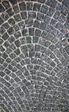 Fondo de piedra antiguo del pavimento Fotos de archivo