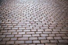 Fondo de piedra de la calle del adoquín Fotografía de archivo libre de regalías