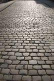 Fondo de piedra de la calle del adoquín, Colonia Imágenes de archivo libres de regalías