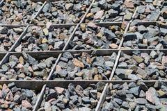 Fondo de piedra del adoquín Fotografía de archivo