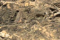 Fondo de piedra del primer de la roca fotos de archivo