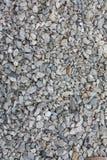 Fondo de piedra de la textura de los guijarros grandes y pequeños, pequeña piedra para la construcción foto de archivo