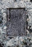 Fondo de piedra natural de la textura Foto de archivo libre de regalías