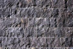 Fondo de piedra negro Foto de archivo libre de regalías