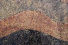 Fondo de piedra ondulado Imágenes de archivo libres de regalías