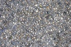 Fondo de piedra, piedras Modelo de las piedras Textura machacada de las piedras Fotos de archivo