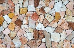 Fondo de piedras coloreadas Fotografía de archivo