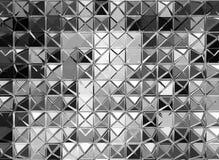 Fondo de plata abstracto Imágenes de archivo libres de regalías