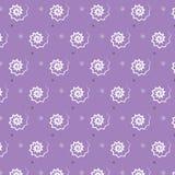 Fondo de plata blanco negro de la púrpura del modelo del espiral del zigzag Foto de archivo libre de regalías