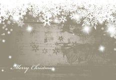 Fondo de plata de la Navidad Imagen de archivo libre de regalías