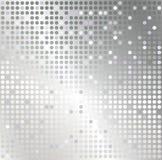 Fondo de plata del extracto del mosaico Fotografía de archivo libre de regalías