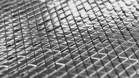 Fondo de plata geométrico del extracto de la pequeña perspectiva DOF de los triángulos ilustración del vector