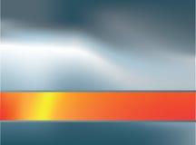 Fondo de plata y anaranjado 4 ilustración del vector
