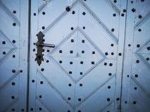 Fondo de puertas de madera viejas foto de archivo libre de regalías