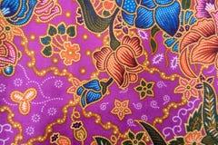 Fondo de punto inconsútil tailandés de la textura del modelo de la tela de seda del modelo de seda Fotografía de archivo libre de regalías