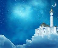 Fondo de Ramadan Kareem foto de archivo libre de regalías