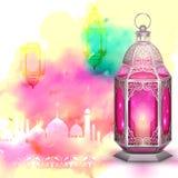 Fondo de Ramadan Kareem (el Ramadán abundante)