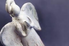 Fondo de rogación del ángel con el espacio de la copia Fotografía de archivo