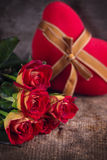 Fondo de Romanttic Imágenes de archivo libres de regalías