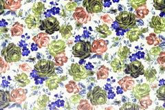 Fondo de Rose Fabric Foto de archivo