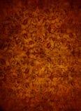 Fondo de Rose Gold Brocade Leaf Textured Imagen de archivo libre de regalías