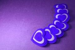 Fondo de saludo lamentable de Valentine Love del libro de recuerdos de los corazones, XXX Fotos de archivo libres de regalías