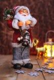 Fondo de Santa Claus de la Navidad Foto de archivo libre de regalías