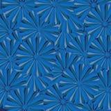 Fondo de Seampless con motivos azules Fotos de archivo libres de regalías