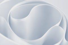 Fondo de seda blanco Foto de archivo