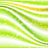 Fondo de seda verde Imágenes de archivo libres de regalías